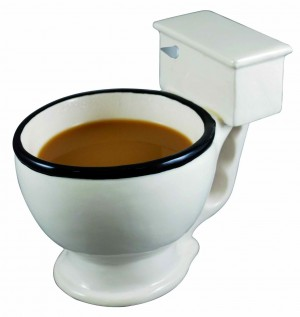 Bizarre gift ideas - Big Mouth Toys Toilet Mug