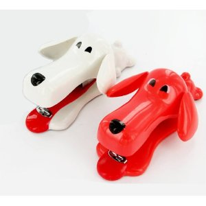 White Elephant Gifts for Co-workers Dog Stapler