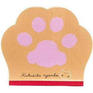Cute gifts for Co-workers -Memo Pad Cat Paw