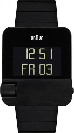 Braun BN0106BKBTG Prestige Digital Watch