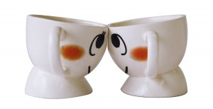 Japanese LoversCouple Head to Head Coffee Mug Set