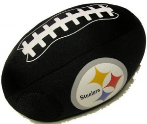 Pittsburgh Steelers NFL iPod/MP3 Player Ball Pillow Speaker
