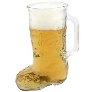 Anchor-Hocking Glass Beer Boot Mug