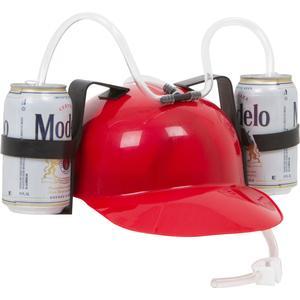 Beer and Soda Guzzler Helmet