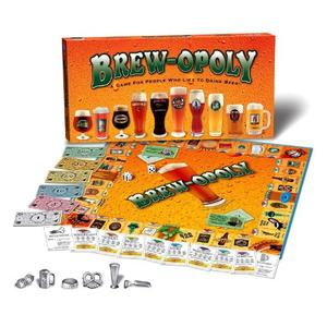 Brew-Opoly Monopoly Game