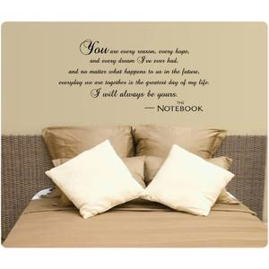 I Will Always Be Yours Wall Decal Quote