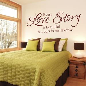 Romantic Bedroom Love Decal for her birthday