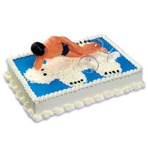 SEXY Macho Man Cake Topper KIT
