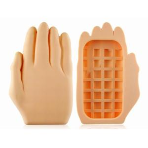Hillairious hand palm shape iPhone silicone case