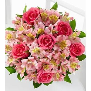 14 stems of Pink Valentines Bouquet