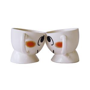 Couple Head to Head Coffee Mug Set