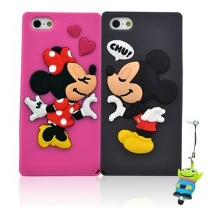 Fall in Love Minnie & Mickey Mouse Soft Silicone Case Cover