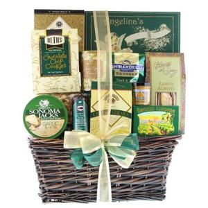 Most popular housewarming gift basket idea