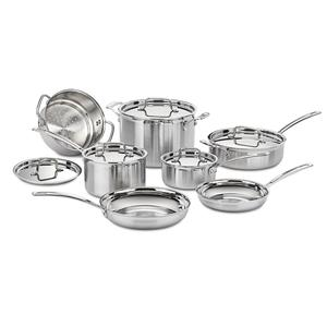 MultiClad Pro Stainless Steel cookware set