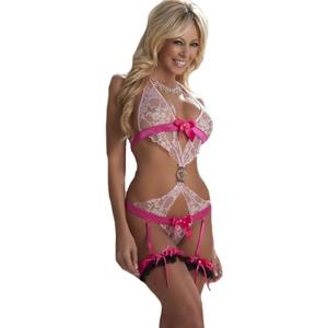 Naughty lingerie for romantic valentine's day gift and celebration