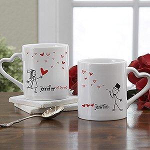 Personalized couple mug for valentine