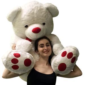 Romantic giant teddy bear 4-feet tall