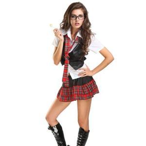 Sexy Naughty School Girl Costume Set