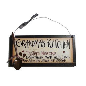 Grandma's Grandma Nana Kitchen sign
