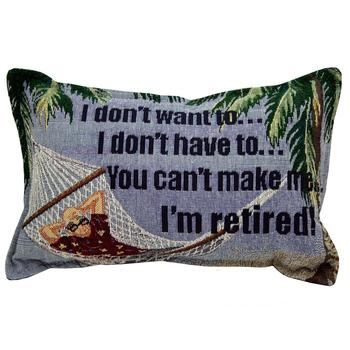 Pillow for retirement gift