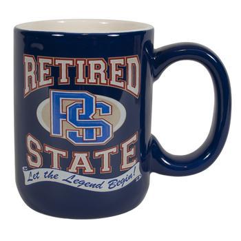 Retired printed mug