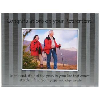 Retirement Congratulations Frame