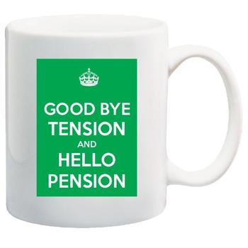 Retirement gift mug