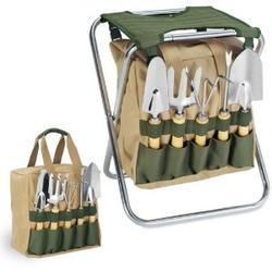 Gardener folding chair for retirement gifts