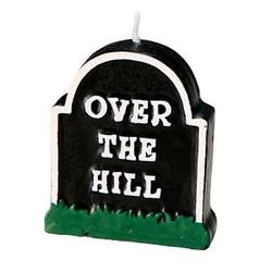 Over the hill candle for retirement gifts