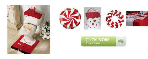 Photo of Red and White Christmas Theme Party Decoration Idea