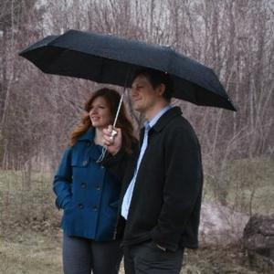 Funny Christmas gifts ideas - Couple umbrella