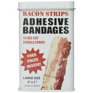 Gross white elephant gift idea with delicious medical bandage