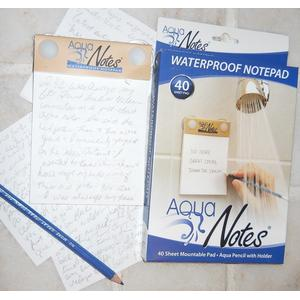 Tacky white elephant gift with waterproof notepad