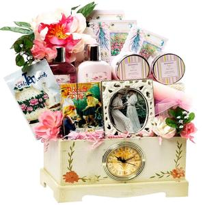 Picture of Gift Basket as retirement gifts for lady